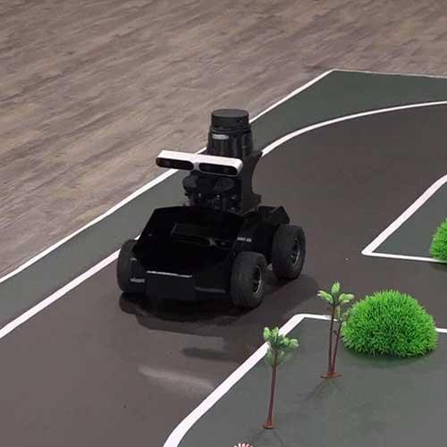 自动驾驶智能小车模拟